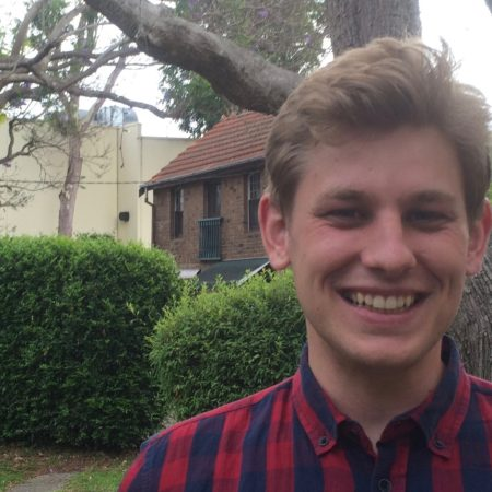 Nathan Cutforth, Petersham Baptist Church Student Pastor